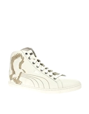 Alexander McQueen for Puma Mid Trainers