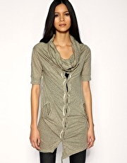 All Saints Reba Gilet Dress