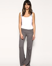 ASOS Fold Over Slub Lounge Pants
