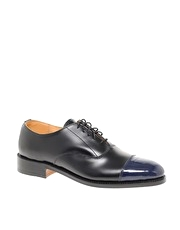 ASOS Made In England Polished Toe- Cap Oxford Shoe