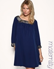 ASOS MATERNITY Embellished Tunic Dress