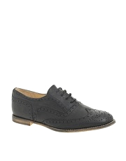 ASOS MORRIS Leather Lace Up Brogue Shoes