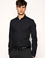 ASOS Square Collar Slim Fit Shirt