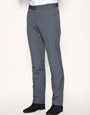 ASOS Straight Fit Grey Trousers