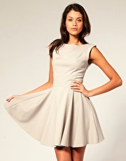 ASOS Tailored Full Skirt Dress