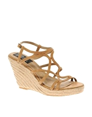 Bertie Phnom Raffia Covered Wedge