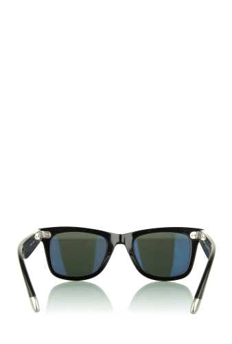 Black 18K White Gold Limited Numbered Wayfarers by Ray Ban