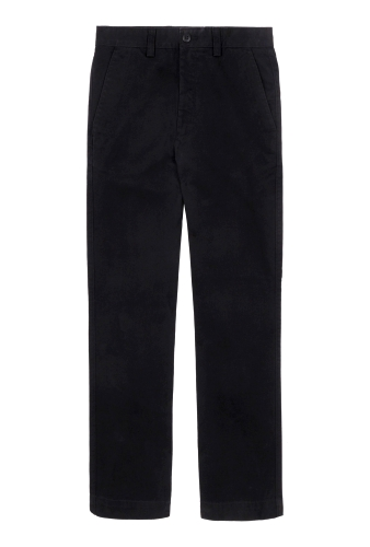 Black Classic Twill D1 Straight Chinos by Dockers