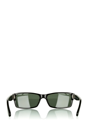 Black Retangular Lens Sunglasses by Persol