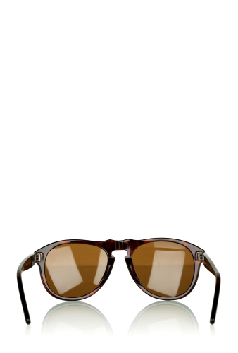 Brown Steve McQueen Tortoiseshell Sunglasses by Persol