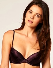 Calvin Klein Silk Structure Push-Up Bra