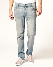 Cheap Monday Streaky Scarping Skinny Jeans