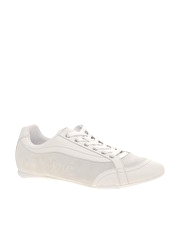 D&G Leather And Suede Trainers
