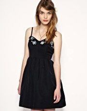Darling Mini Prom Dress With Jewel Embellishment