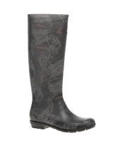 Diesel NYC Printed Wellington Boots