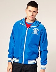 Duffer of St George League Nylon Hooded Jacket