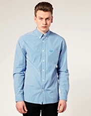 Fred Perry Long Sleeve Gingham Shirt