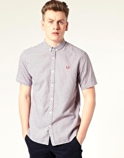 Fred Perry Micro Check Shirt