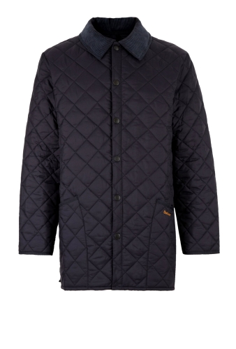 Navy Liddesdale Quilted Jacket by Barbour