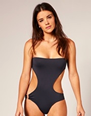 Pistol Panties Farah Cut out Side One Piece