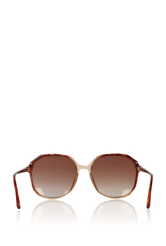 Red Square Framed Vintage Dior Tortoise Sunglasses by Retros