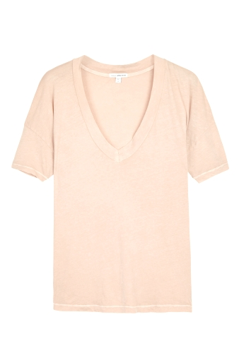 Rosenude Drop Shoulder Short Sleeve Tee by James Perse