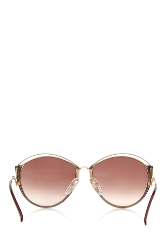 Round Framed Vintage Dior Butterfly Sunglasses by Retrosun