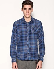 Scotch & Soda Oxford Cotton Check Shirt