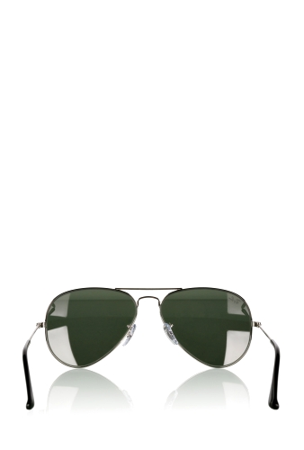 Silver Classic Mirrored Aviator by Ray Ban