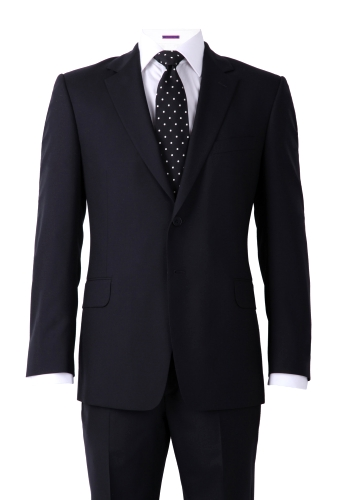 'The Willoughby' Black Suit by Paul Smith London