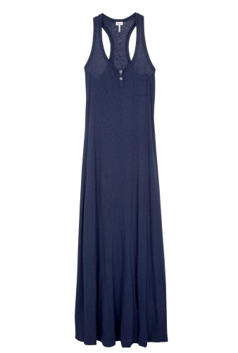 Venice Slub Maxi Jersey Dress by Splendid