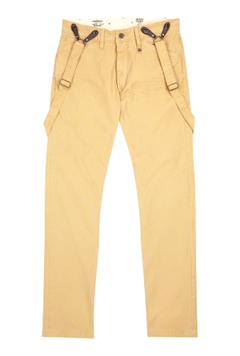 Washed Stone Braces Roots Chinos by Levi's