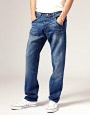 Wrangler Ben Anti Fit Tapered Jeans