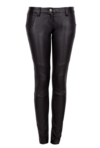 Zacky Leather Motor Trousers by IRO